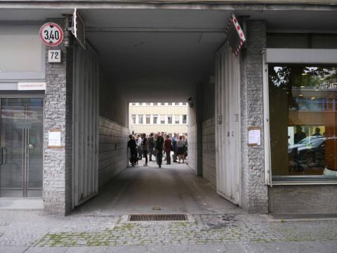 POT 72 temporärer Artspace vom 15. August bis 14. Dezember